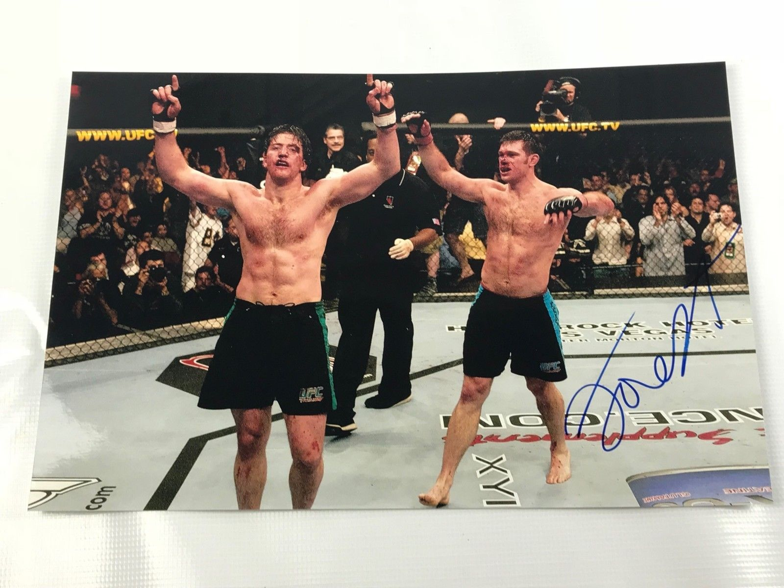 Forrest Griffin SIGNED 12x18 Photo AUTOGRAPH UFC TUF Winner COA