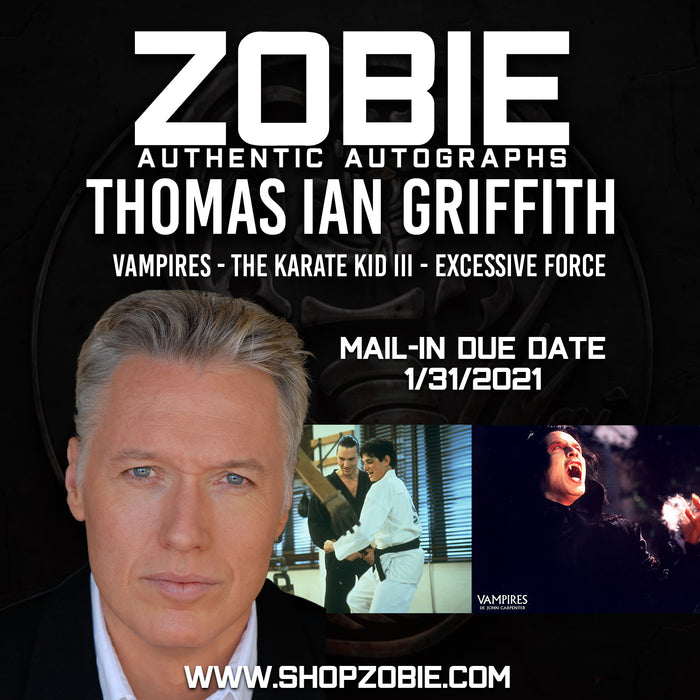 CLOSED Thomas Ian Griffith Autograph Pre-Order