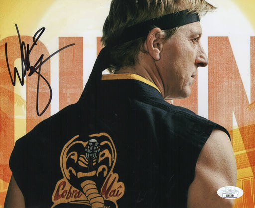 William Zabka Autograph 8x10 Photo Cobra Kai Johnny Signed JSA COA
