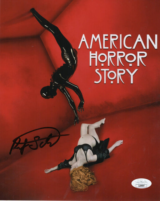 Riley Schmidt Autograph 8x10 Photo American Horror Story Rubber Man JSA COA 3