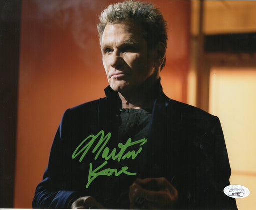 Martin Kove Autograph 8x10 Photo The Karate Kid - Cobra Kai Signed JSA COA 5