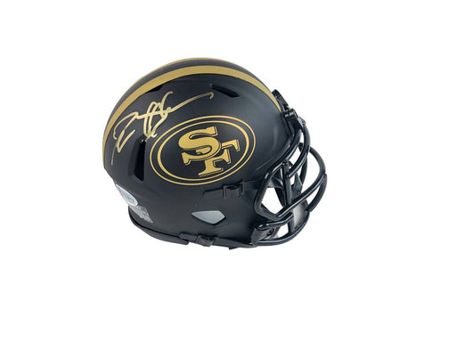 Deion Sanders Autograph San Francisco 49ers Eclipse Mini Helmet Signed Beckett COA