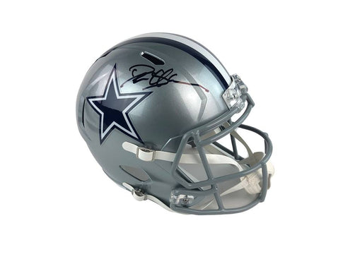 Deion Sanders Autograph Dallas Cowboys Full Size Helmet Signed Beckett COA