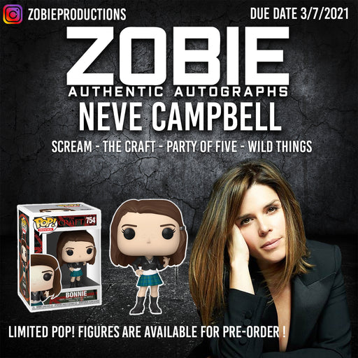 Neve Campbell Autograph Pre-Order