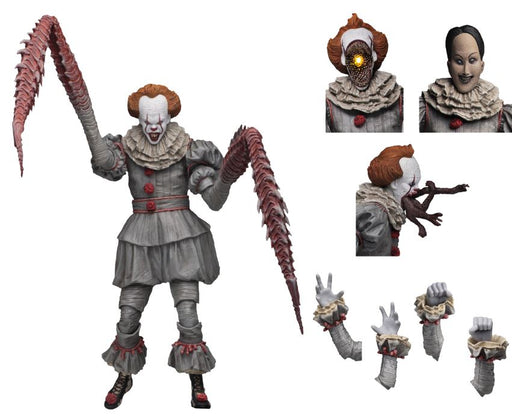 "IT – 7″ Scale Action Figure – Ultimate ""Dancing Clown"" Pennywise"