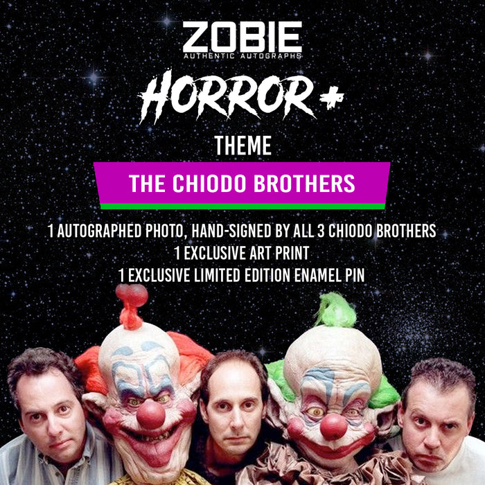 CLOSED Zobie Horror+ Mystery Box - Chiodo Brothers
