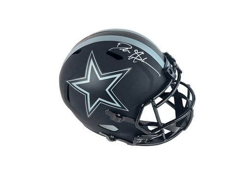 Deion Sanders Autograph Dallas Cowboys Eclipse Full Size Helmet Signed BAS COA