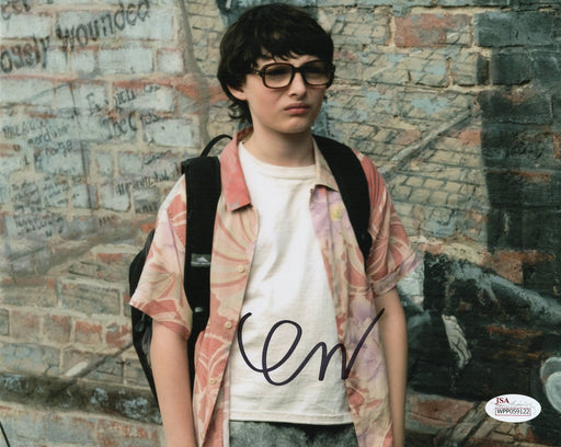 Finn Wolfhard Signed 8x10 Photo Stranger Things Mike Autograph JSA COA Z13