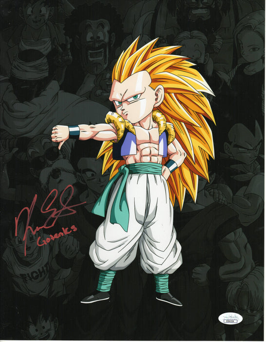 Kara Edwards Autograph Gotenks 11x14 Photo Dragon Ball Z Signed JSA COA