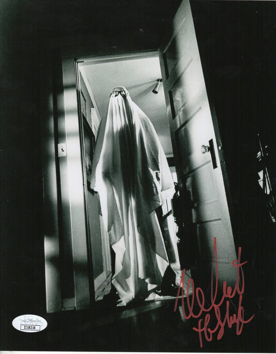 Nick Castle Autograph 8x10 Photo Halloween Signed Michael Myers JSA COA 5