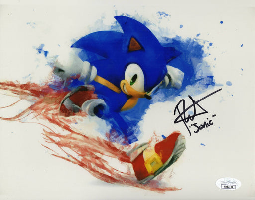 Roger Craig Smith Autograph 8x10 Photo Sonic The Hedgehog Signed JSA COA Z1