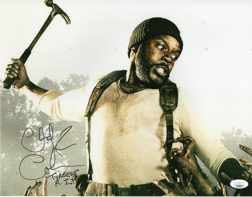 Chad Coleman Autograph 11x14 Photo The Walking Dead Tyreese Signed JSA COA