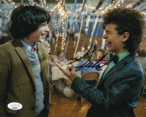 Gaten Matarazzo Autograph 8x10 Photo Stranger Things Dustin Signed JSA COA 2