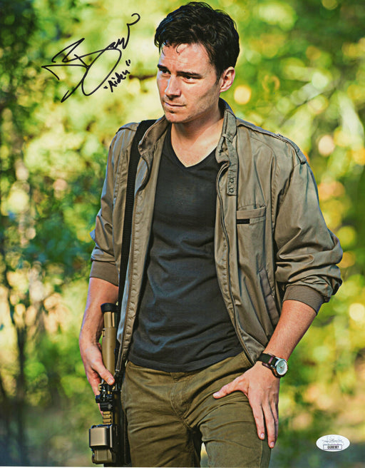 Daniel Bonjour Autograph 11x14 Photo The Walking Dead AIden Signed JSA COA