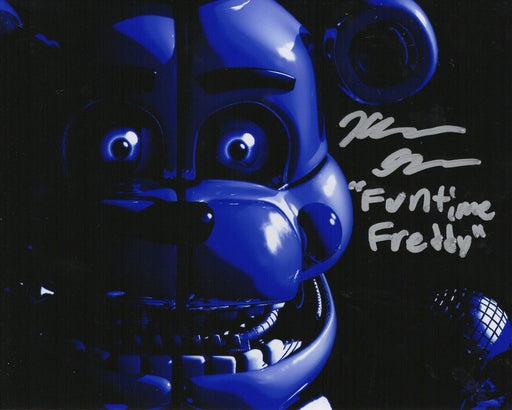 Kellen Goff Signed 8x10 Photo Five Nights at Funtime Freddy's COA Z3