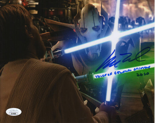SPECIAL Matthew Wood Autograph 8x10 Photo Star Wars General Grevious Signed JSA COA MW2