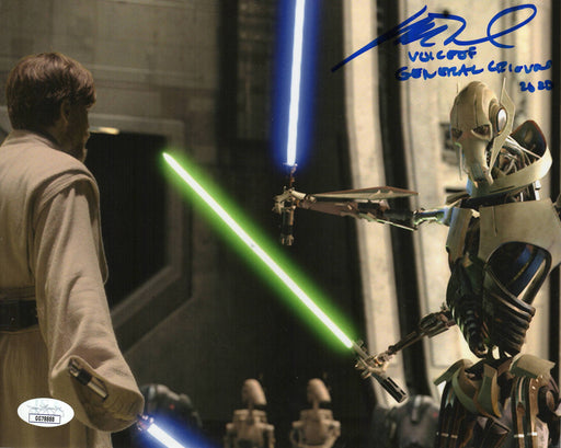 SPECIAL Matthew Wood Autograph 8x10 Photo Star Wars General Grevious Signed JSA COA MW3