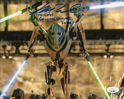 SPECIAL Matthew Wood Autograph 8x10 Photo Star Wars General Grevious Signed JSA COA MW4