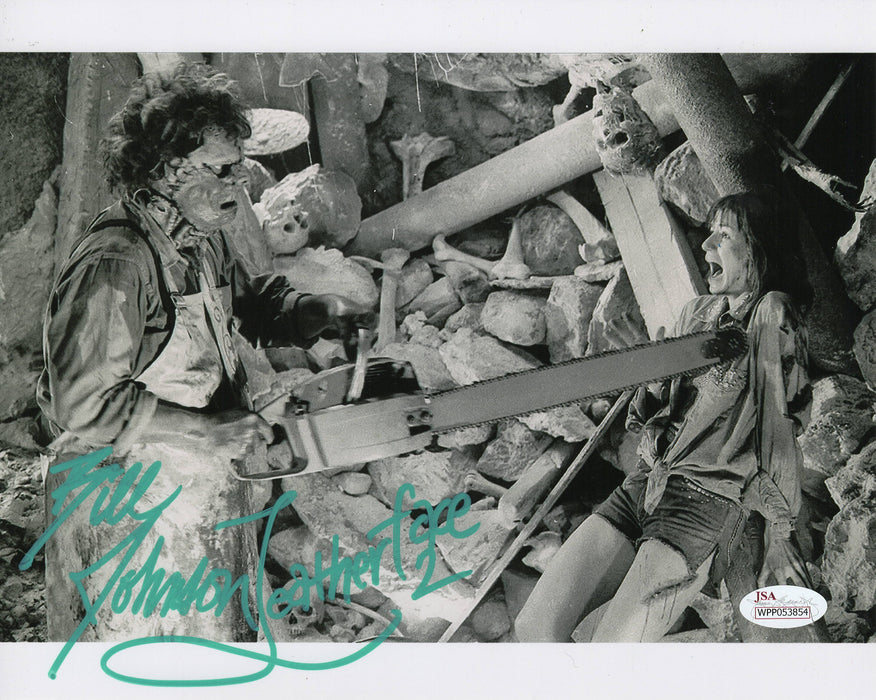 Bill Johnson Signed 8x10 Photo Leatherface 2 Autograph JSA COA Z4