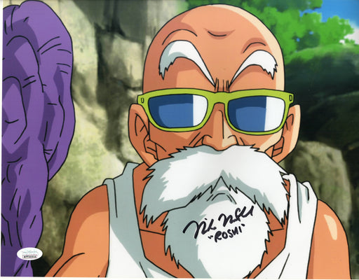 Mike McFarland Autograph 11x14 Photo Dragon Ball Z Master Roshi Signed JSA COA 2