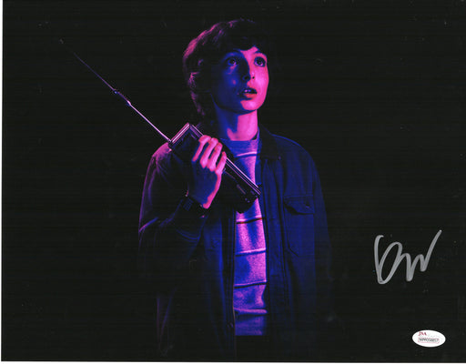 Finn Wolfhard Autograph 11x14 Photo Stranger Things Mike Signed JSA COA