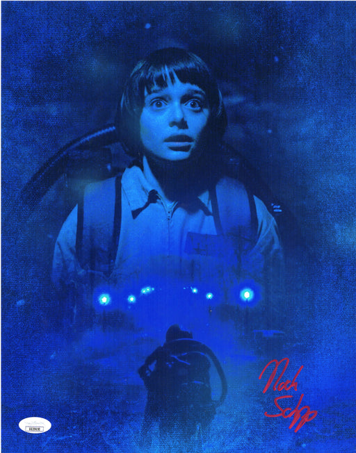 Noah Schnapp Autograph 11x14 Photo Stranger Things Will Signed JSA COA