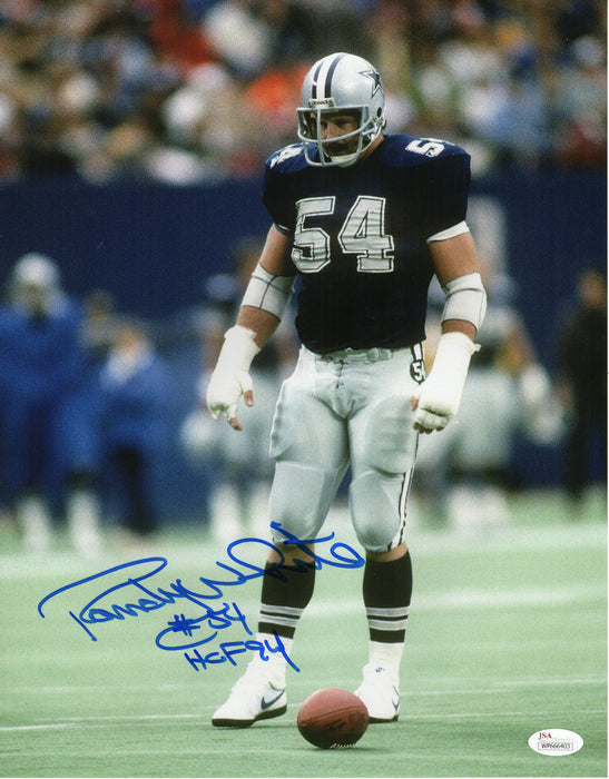 Randy White Autograph 11x14 Photo Dallas Cowboys HOF Signed JSA COA