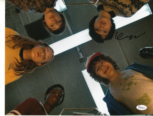 Finn Wolfhard Autograph 11x14 Photo Stranger Things Mike Signed JSA COA MW6