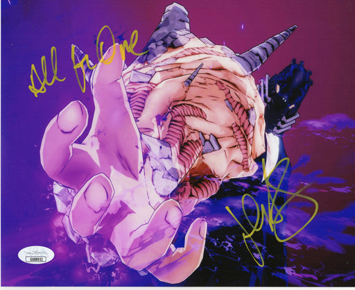 John Swasey Autograph 8x10 Photo My Hero Academia Hero All for One Signed JSA