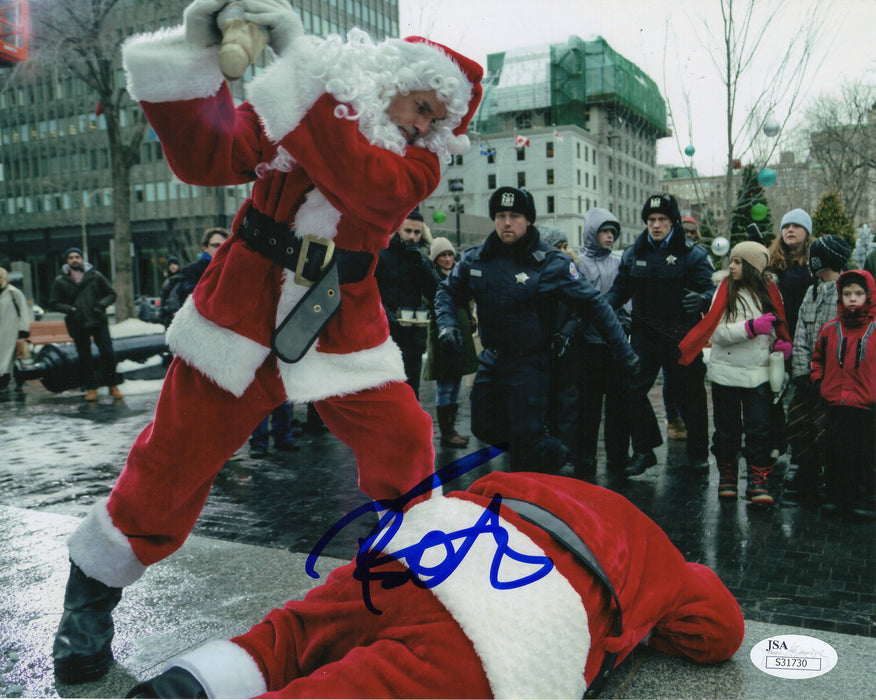 Billy Bob Thornton Autograph 8x10 Photo Bad Santa JSA COA