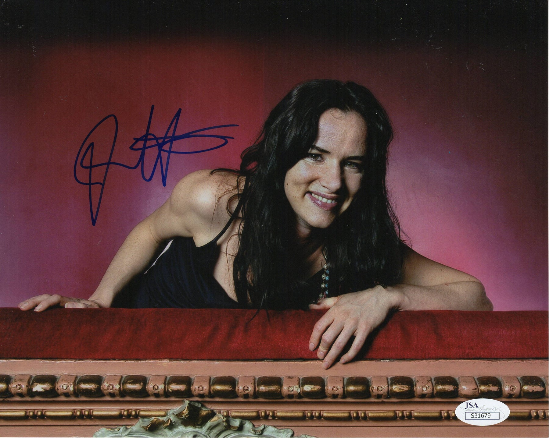 Juliette Lewis Autograph 8x10 Photo Cape Fear Natural Born Killers JSA COA
