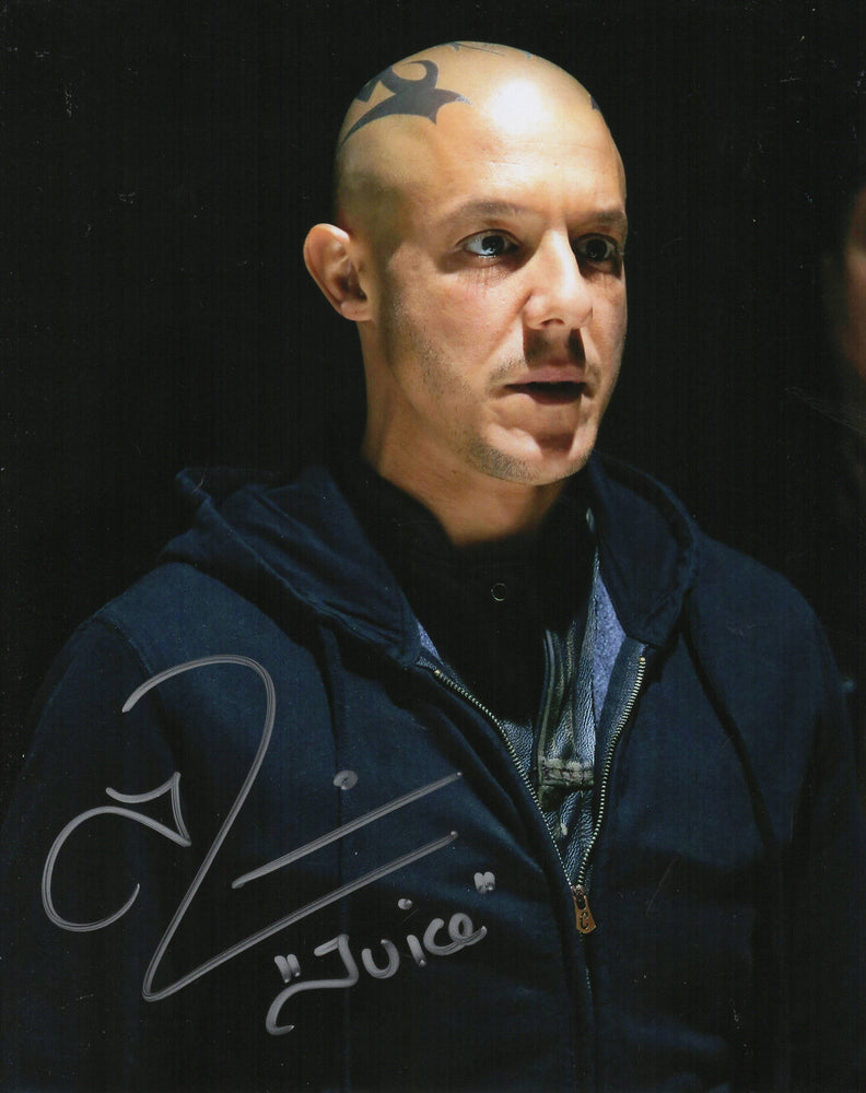 Theo Rossi Autograph 8x10 Photo Sons of Anarchy Juice Zobie COA 4