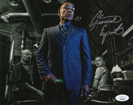 Giancarlo Esposito Autograph 8x10 Photo Breaking Bad Gus Fring JSA COA 2