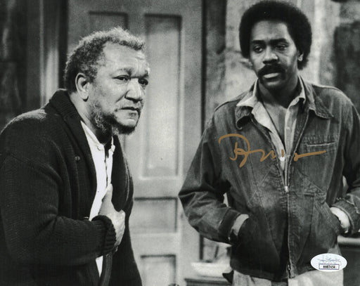 Demond Wilson Autograph Signed 8x10 Photo Sanford and Son Lamont JSA COA S1