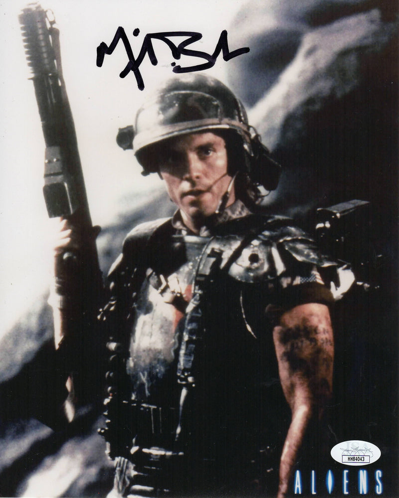 Michael Biehn Autograph 8x10 Photo Aliens Signed JSA COA