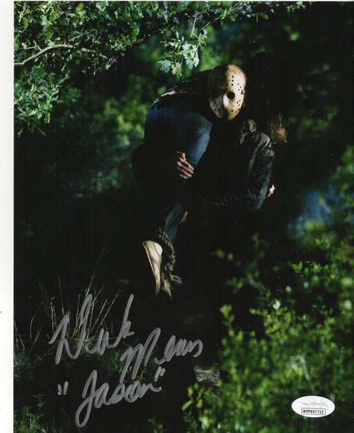 Derek Mears Autograph 8x10 Photo Friday the 13th Jason Voorhees Signed JSA COA