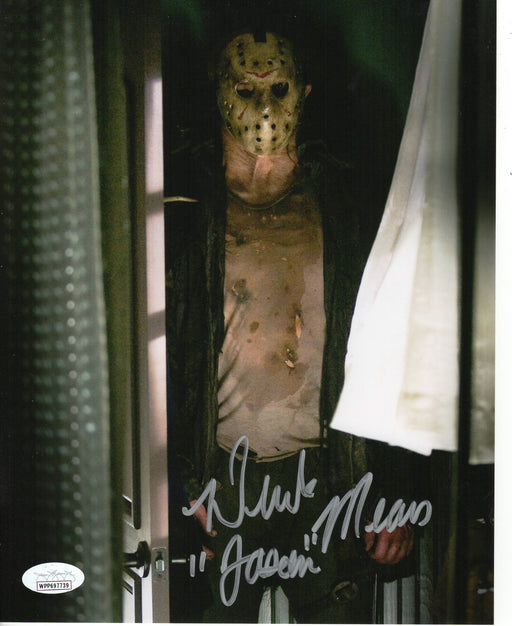 Derek Mears Autograph 8x10 Photo Friday the 13th Jason Voorhees Signed JSA COA 3