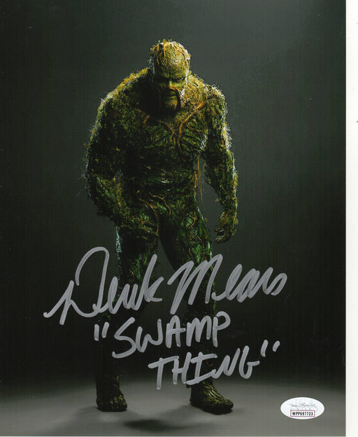 Derek Mears Autograph 8x10 Photo Swamp Thing Signed JSA COA