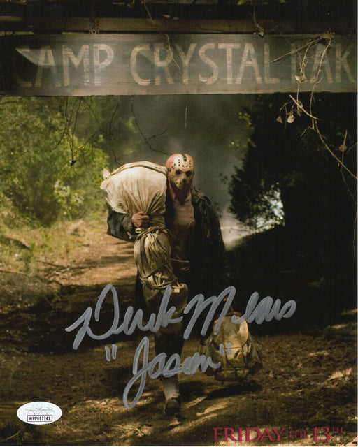 Derek Mears Autograph 8x10 Photo F13 2009 Jason Voorhees Signed JSA COA