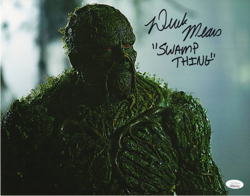 Derek Mears Autograph 11X14 Photo Swamp Thing Signed JSA COA