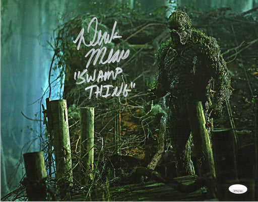 Derek Mears Autograph 11X14 Photo Swamp Thing Signed JSA COA 2
