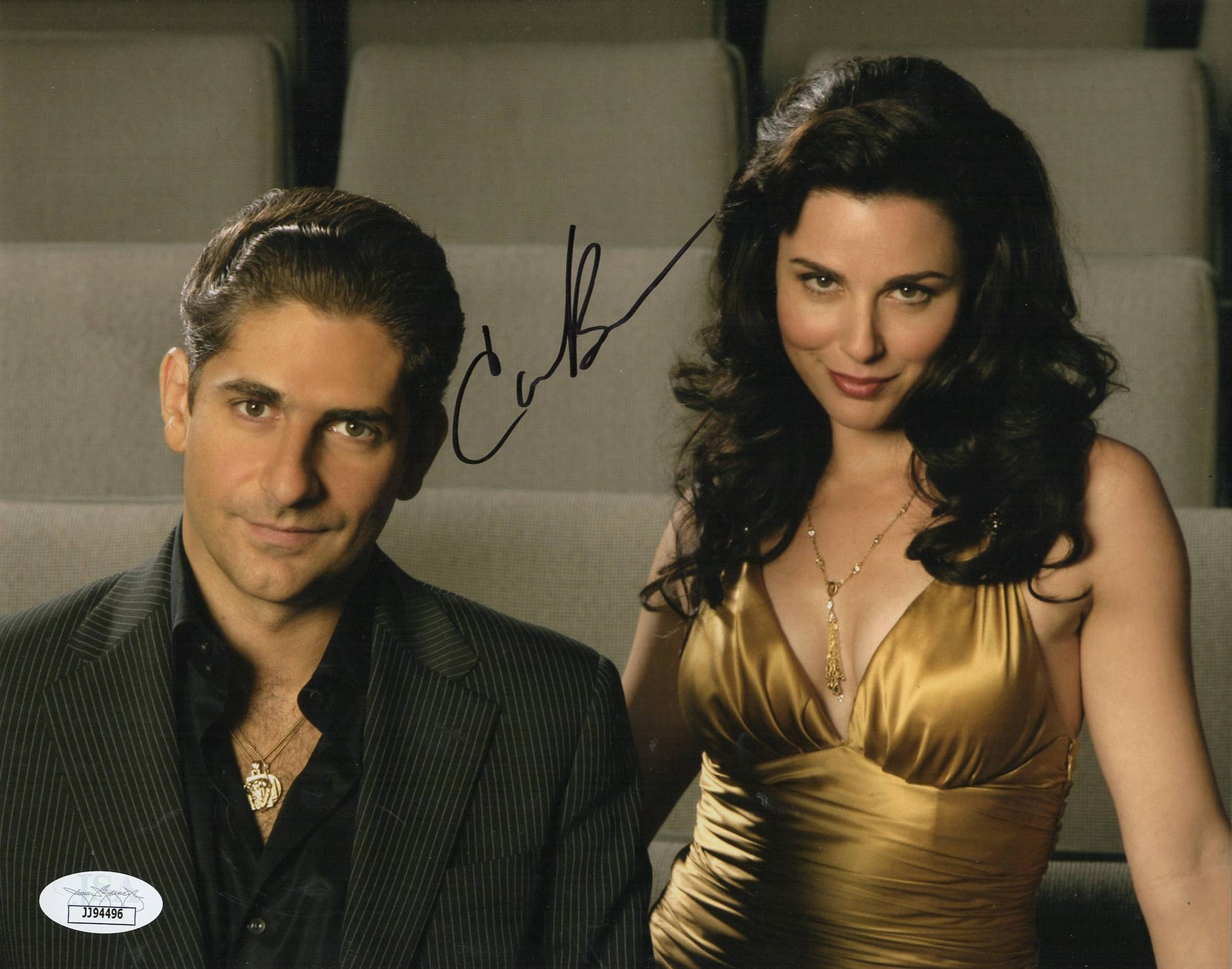 Cara Buono Autograph 8x10 Photo The Sopranos Signed JSA COA