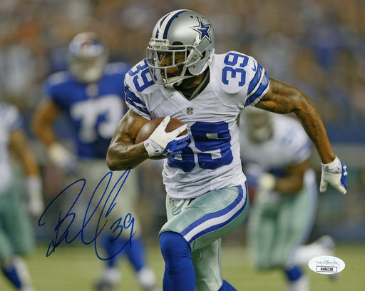 Brandon Carr Autograph 8x10 Photo Dallas Cowboys Signed JSA COA
