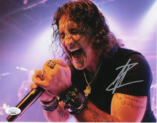 Scott Stapp Autograph 8x10 Photo Creed Lead Singer Signed JSA COA