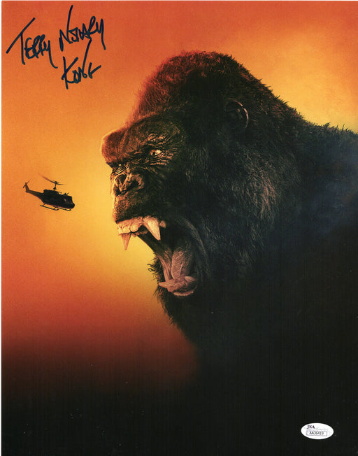 Terry Notary Autograph 11x14 Photo King Kong Actor Signed JSA COA