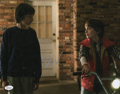 Finn Wolfhard Autograph 11x14 Photo Stranger Things Signed JSA COA