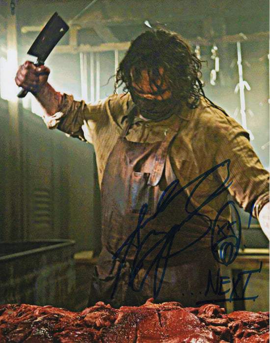 Andrew Bryniarski Signed 11x14 Photo Texas Chainsaw Massacre Leatherface COA