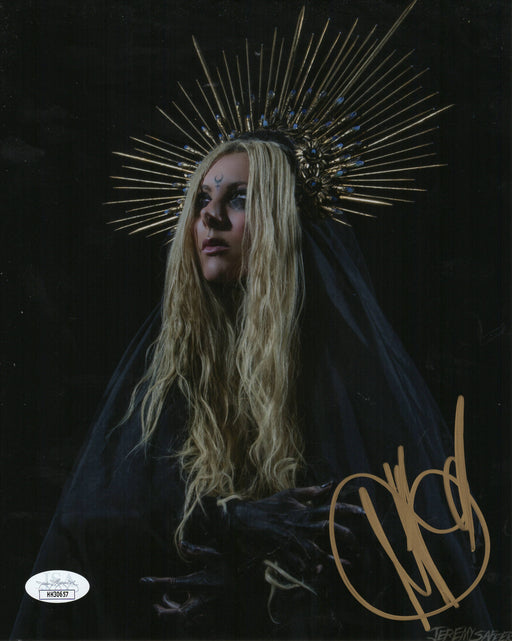 Maria Brink Autograph 8x10 Photo In This Moment Lead Singer Signed JSA COA