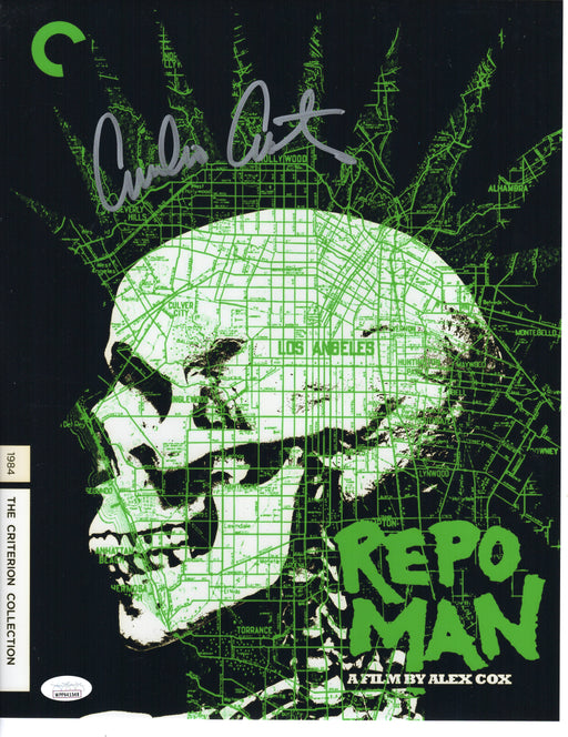 Emilio Estevez Autograph 11x14 Photo Repo Man Signed JSA COA