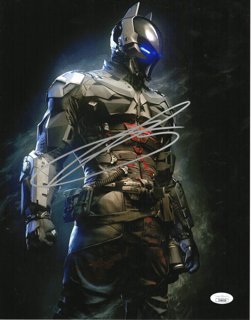 Troy Baker Autograph 11x14 Photo Batman Arkham Knight Origins Signed JSA COA 3